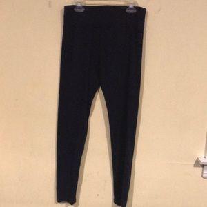 Dark Blue Justice leggings size 18